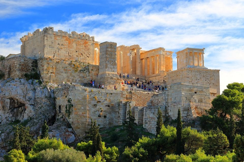 Snapshots of a trip to Greece
