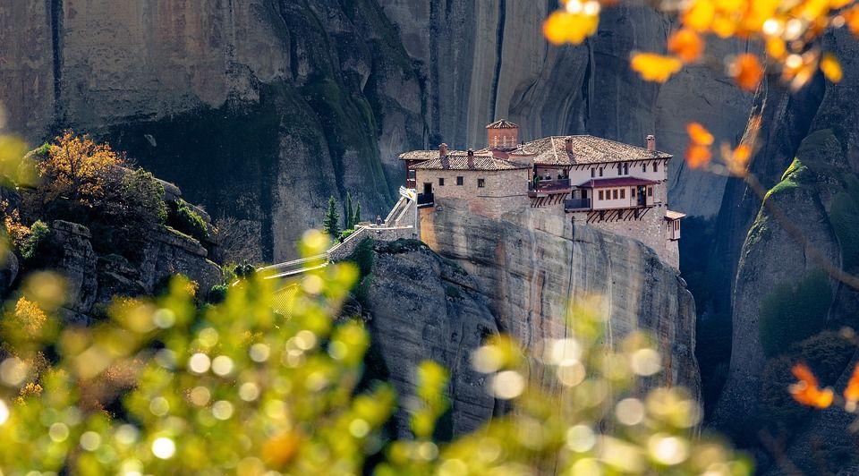 The stunning monasteries of Meteora, Greece