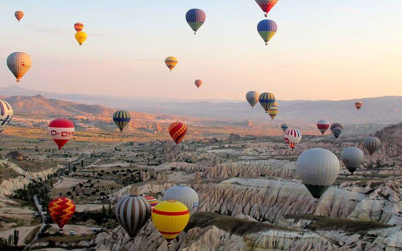 Ballon flight in Cappadocia: A unique and authentic experience