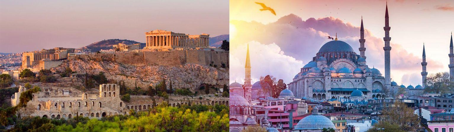 Paquetes de Viajes a Grecia y Turquía