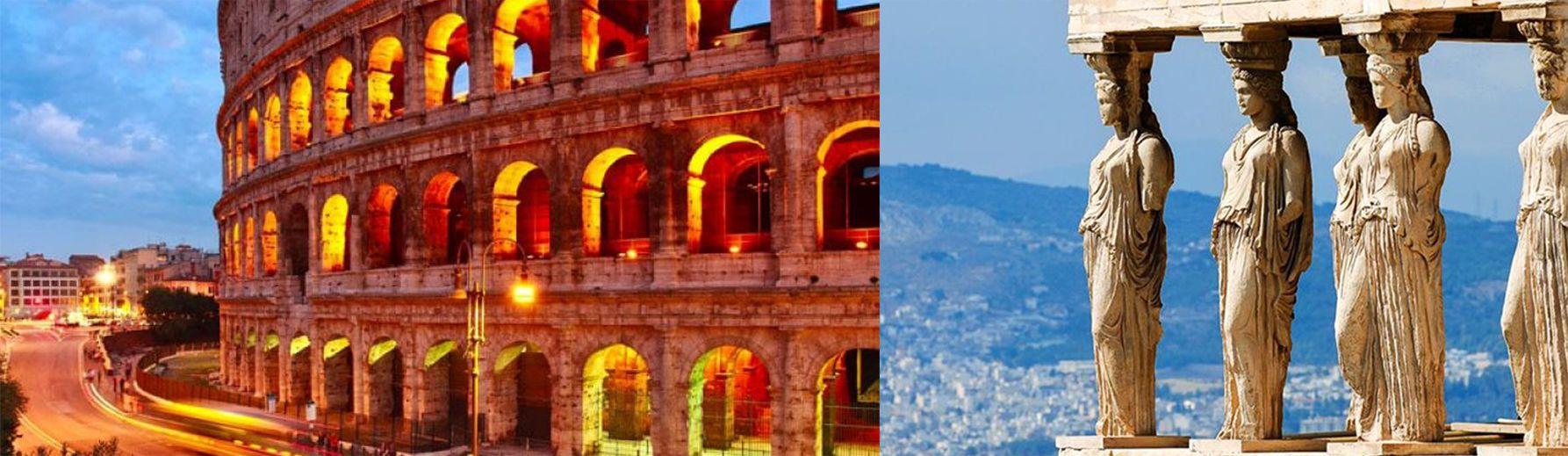 Paquetes de Viajes a Grecia e Italia