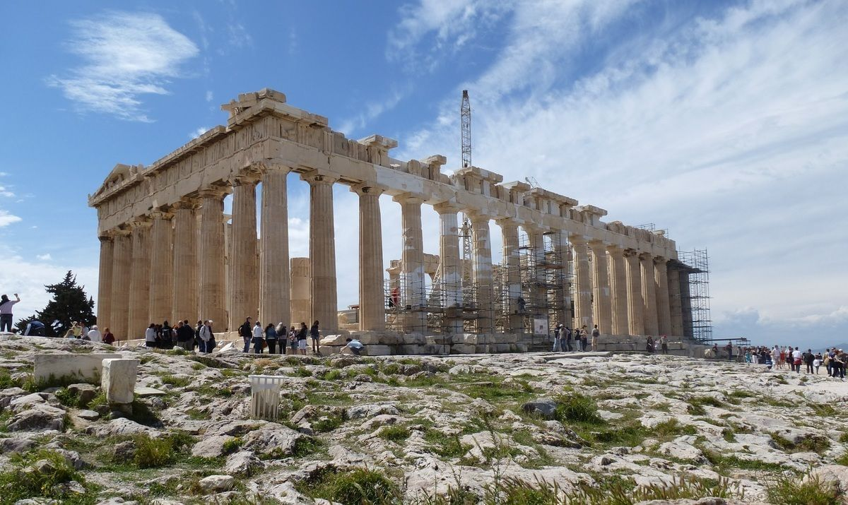 The most famous tourist places in Greece