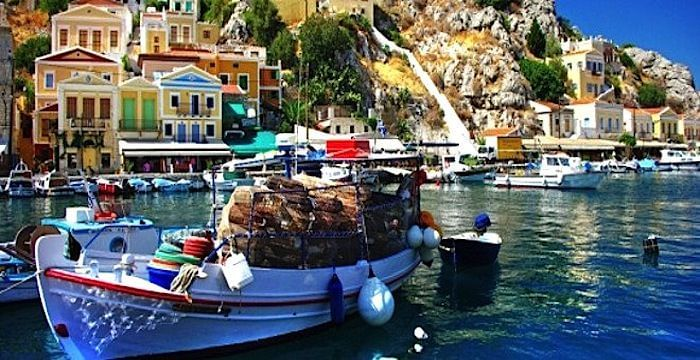 Las islas Griegas y el origen de sus nombres