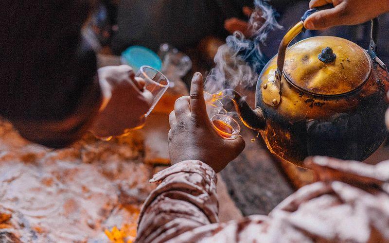Una guía sobre la cultura del té y el café de Ammán