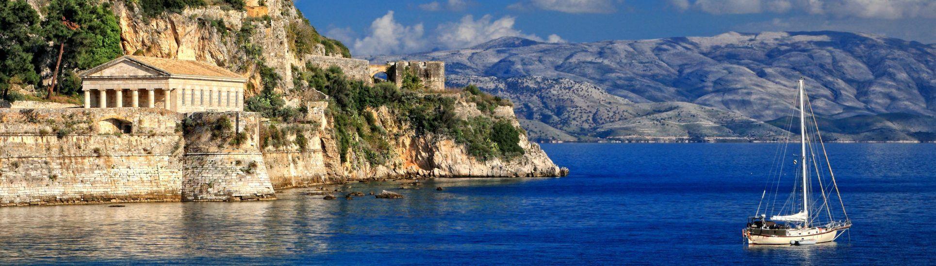 Corfu Luxury Yacht Charter Guide - IYC