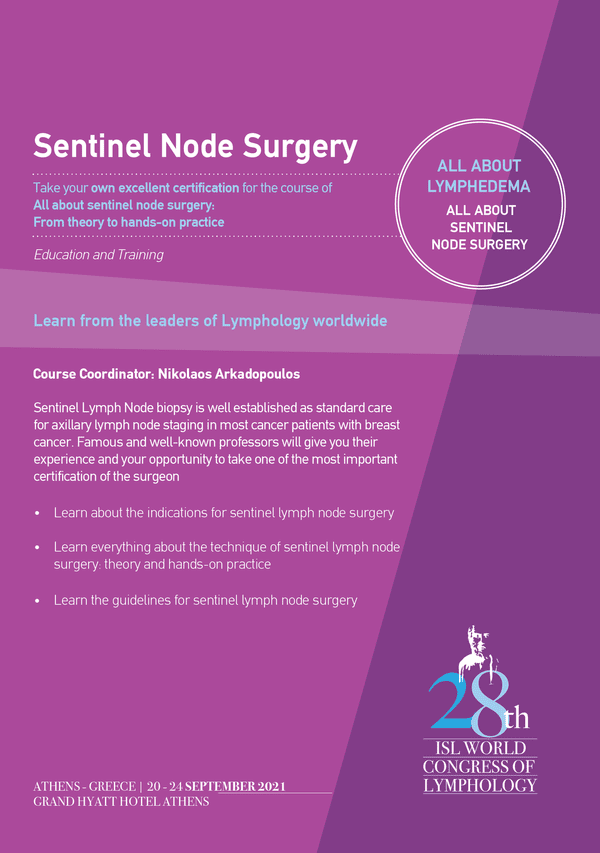 Sentinel Lymph Node Biopsy Course