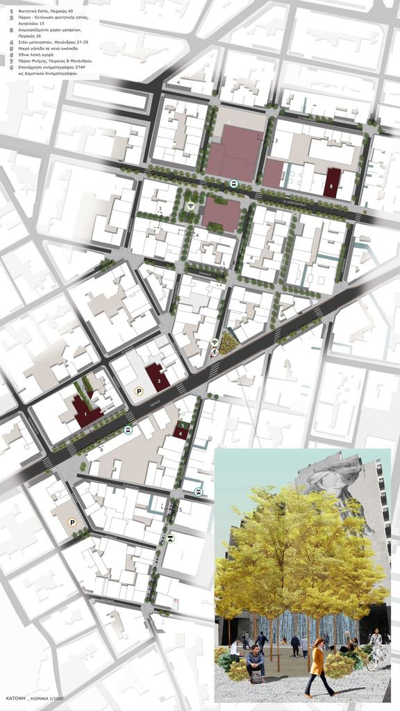 Regeneration of Athens City Center